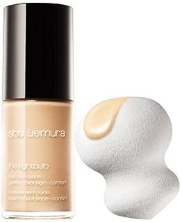 Shu Uemura light bulb fluid foundation and sponge #554 27ml