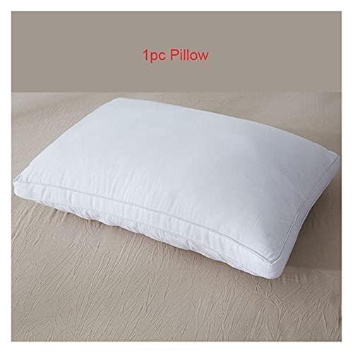 Varios tipos de almohadas Para todos la tela suave de la pluma de la pluma almohada de la almohada de la almohada de la almohada de la almohada del estiramiento del hotel para el hotel para dormir y s