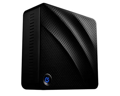 MSI Cubi N 8GL-003DE Desktop PC Lüfterlos, Lautlos (Intel Celeron N4000, 4GB RAM, 32GB SSD, HD-Grafik, Windows 10 Professional) schwarz CubiN Mini-PC, 4K UHD, Pro