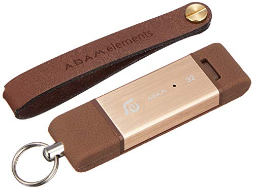 ADAM elements iKlips Lightning Flashspeicher 32 GB gold