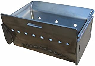 Whitfield Stainless Steel Burn Grate -10 Bar, Profile 20 & 30, Traditions T-300 Series, Advantage 12051263 for Pellet Stoves