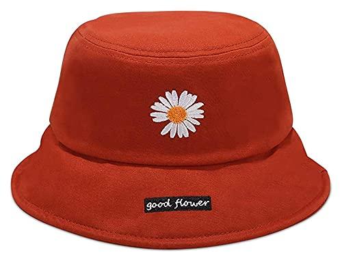 Seupeak New Womens Sun Hat Sunscreen Sunscreen Cappello da Sole Leggero Viaggi Viaggi Shopping Protezione all'aperto Traspirante UPF 50+ Cappellini da Spiaggia in Cotone (Color : Red)