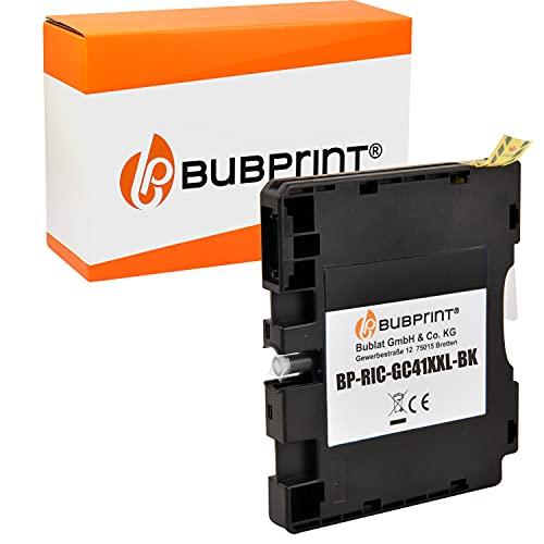 Bubprint Kompatibel Druckerpatrone als Ersatz für Ricoh GC-41 GC-41K für Aficio SG2100N SG3100SNw SG3110DN SG3110DNw SG3110SFNw SG3120 SG7100DN SG-K3100DN Schwarz