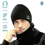EXCOUP Bluetooth Beanie, Cappello Musicale con la Cuffia Senza Fili Bluetooth