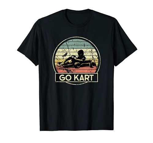 Go Kart - Eje de motor de carreras Camiseta