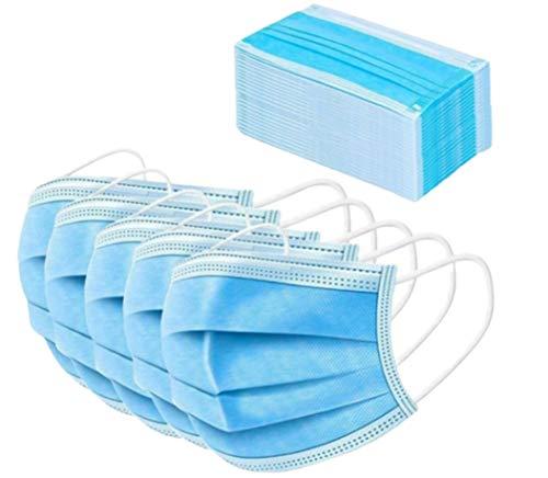 Protection buccale non tissée jetable 3 couches douce 50pcs