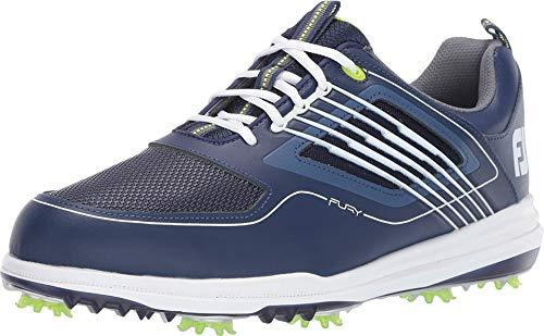 Footjoy Herren Fury Golfschuhe, Blau (Azul Navy/Blanco 51101m), 40.5 EU