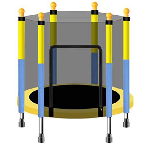 LKFSNGB El hogar de los niños trampolín | con la Red de protección para niños de Interior de trampolín de Juguete | Deportes Adultos Fitness trampolín