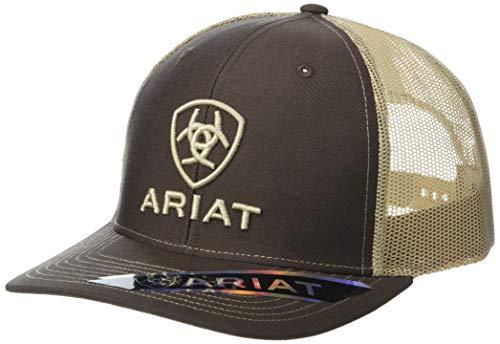 ARIAT Shield Richardson 112 Snapback Cap Brown/Tan One Size