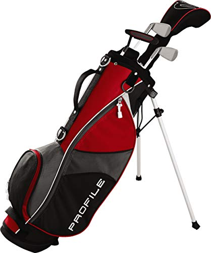 Wilson Golf Profile JGI Junior Complete Golf Set — Small, Red, Right Hand
