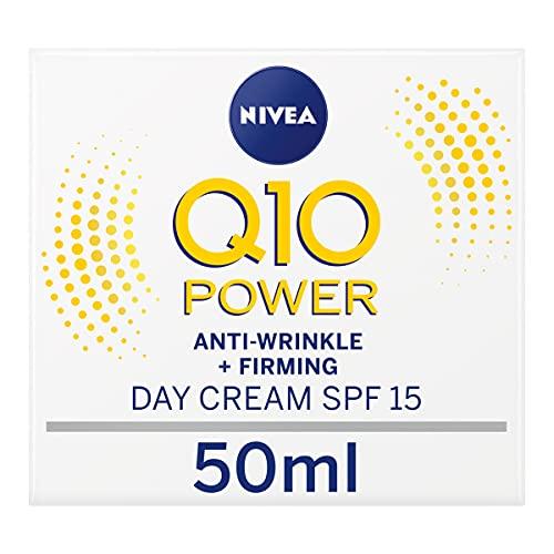 NIVEA Q10 Power Anti-Wrinkle + Firming - Crema da giorno antirughe e...
