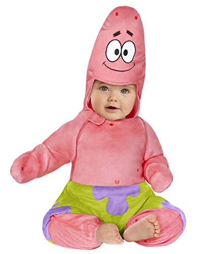 Spirit Halloween Baby Spongebob Squarepants Patrick Star Costume - 18-24 mths