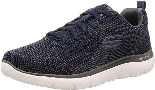Skechers Brisbane, Herren-Schuhe, Blau - blau - Größe: 44 EU