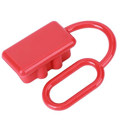Tapa de polvo protectora, conector de montacargas rojo Calidad de polvo Conector de carretilla elevadora Servicio Life Plastic Hecho para el conector de la carretilla elevadora Pequeño plástico