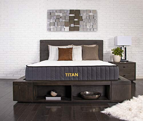 Brooklyn Bedding Titan 11-Inch TitanFlex Hybrid Mattress with TitanCaliber Coils, Queen