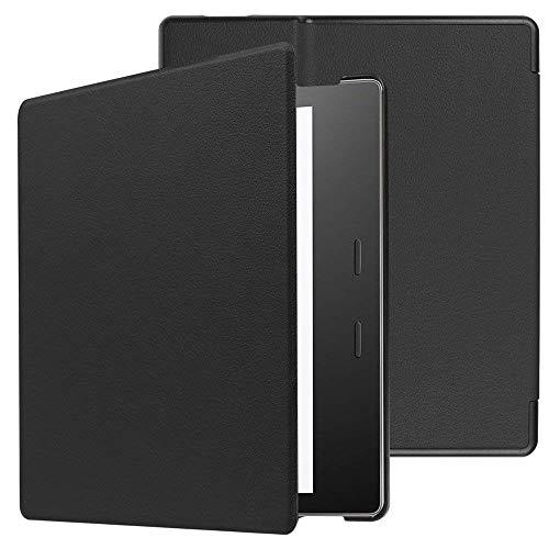 Capa para Kindle Oasis 2019-2021 (aparelho com temperatura de luz ajustável) - SEM acionamento da hibernação - Preta