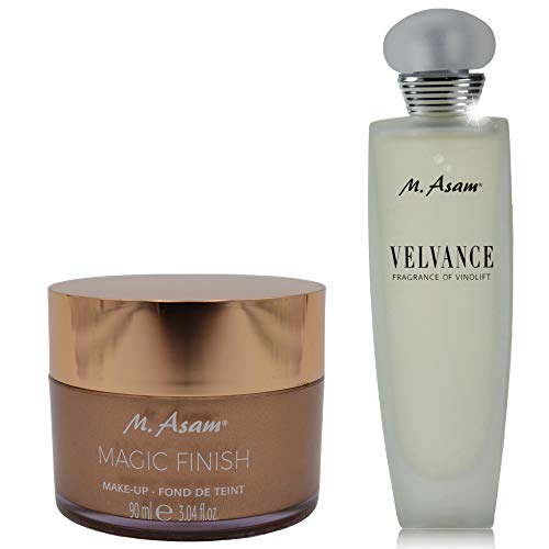 M. Asam® Magic Finish - 90ml + Eau de Parfum Velvance Fragrance of Vinolift 100ml