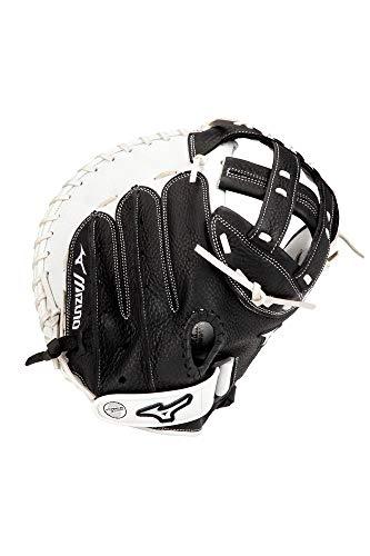 "Mizuno GXS90F4 Franchise Series Fastpitch Softball Catcher's Mitt 34"", Right Hand Throw , BLACK"