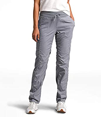 The North Face Women's Aphrodite 2.0 Pant, TNF Medium Grey Heather, Large Regular