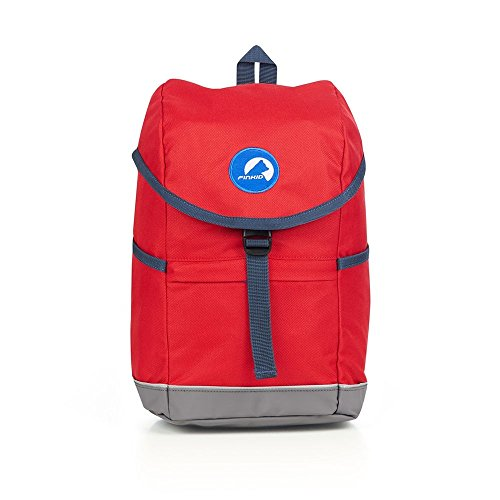 Finkid Reppu, 8 Liter, red/Denim