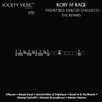 Password: Esercizi D'Agosto Remixes