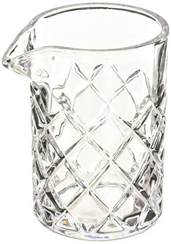 True Fabrication Viski Professional Crystal Mixing Glass, Multicolor