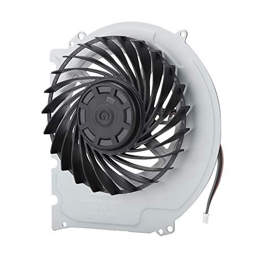 cigemay Ventilador de enfriamiento para PS4 Slim 2000, Pieza de reparación de reemplazo de Ventilador de enfriamiento Interno ABS Duradero, enfriamiento rápido