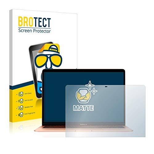 BROTECT Entspiegelungs Schutzfolie kompatibel mit Apple MacBook Air 133 2020 Displayschutz Folie Matt Anti Reflex Anti Fingerprint