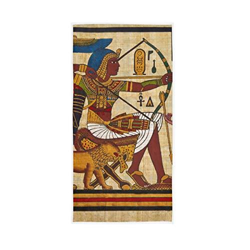 Weiche Große Antike Ägyptische Vintage Badetücher Handmontage Dekorative Gast Mehrzweck Hochsaugfähig 30x15 zoll für Bad Home Hotel Gym Spa