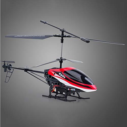 Bseion Helicóptero RC, Control remoto Helicóptero Juguete Avión Drone Aleación Plástico con giroscopio y luz LED Helicóptero Juguete con control remoto Interior for niños y adultos Regalo for
