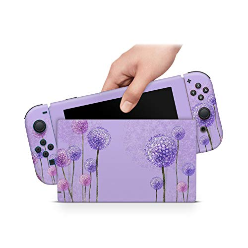 ZOOMHITSKINS Lilas Bloom Pastel Pink Blossom Spring Lavender Majestic High Quality 3M Vinyl Decal Sticker Wrap, Bubble-free Install, Goo-free Removal, Nintendo Switch Compatible, Made in the USA