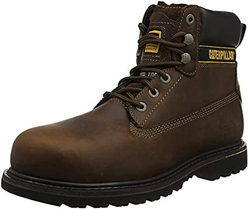Cat Footwear Holton, Botas de Trabajo Hombre, Marrón (Brown 003), 43 EU