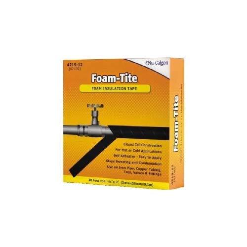 Nu-Calgon 4219-12 Foam-Tite Insulation Tape 1/8'T x 2'W x 30'L