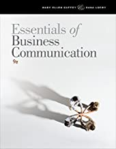Essentials of Business Communication 9th edition by Guffey, Mary Ellen, Loewy, Dana (2012) Paperback