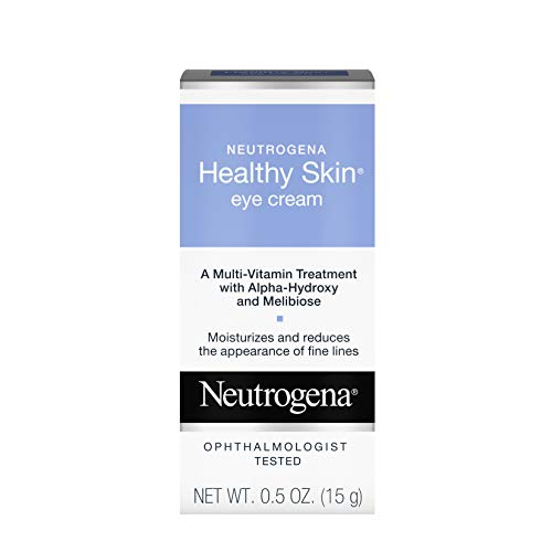 Neutrogena Healthy Skin Anti-Wrinkle Eye Cream with Alpha Hydroxy Acid (AHA), Vitamin A and Vitamin B5 - Firming Under-Eye Cream for Wrinkles and Fine Lines, 0.5 oz
