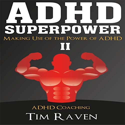 ADHD Superpower II audiobook cover art