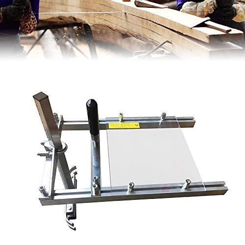 20 Zoll Mobiles Sägewerk Klein Holz Sägehilfe für 14'' bis 20'' Kettensäge Motorsäge Schweißen Sägewerk für Bauarbeiter Holzarbeiter