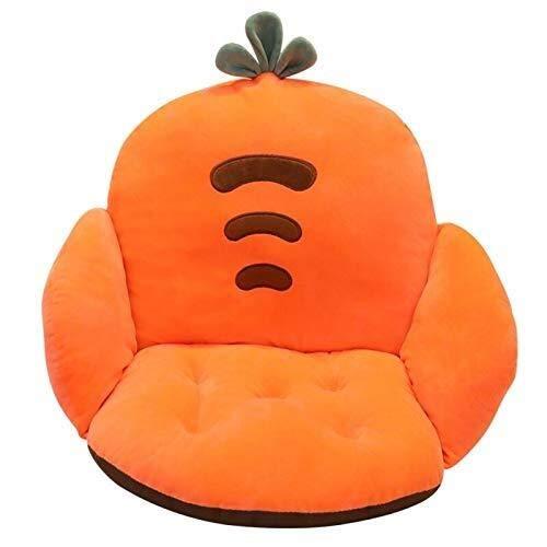 YOUXD Zitkussens Kussen Cartoon Fruit Semi-ingesloten Stoel Kussen Zachte Pluche Vloerstoel voor Kantoorstoelen, Rolstoel, Keukenstoelen, Ligstoel, Autostoelen