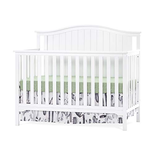 Forever Eclectic Hampton Arch-Top 4-in-1 Convertible Baby Crib