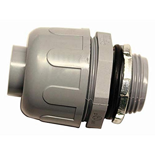 Southwire 58133701 3/4-in Liquid-Tight Connector,Grey
