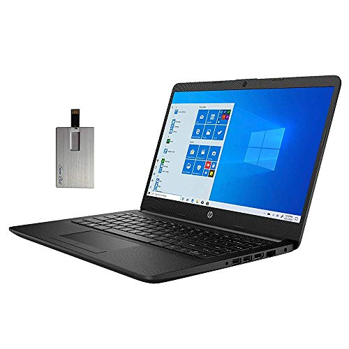 "2020 HP Pavilion 14"" HD Display Laptop Computer, AMD Athlon Silver 3050U Processor, AMD Radeon Graphics, Webcam, Stereo Speakers, Windows 10, Black, Parent (4GB RAM | 128GB SSD)"