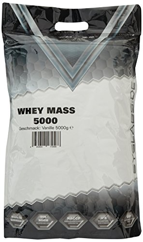 Syglabs Nutrition Whey Mass Vanille - Weight Gainer, 1er Pack (1 x 5 kg)