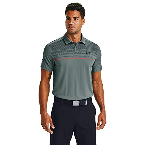 Under Armour Herren Vanish 1Up Polo, Lichen Blue, XL