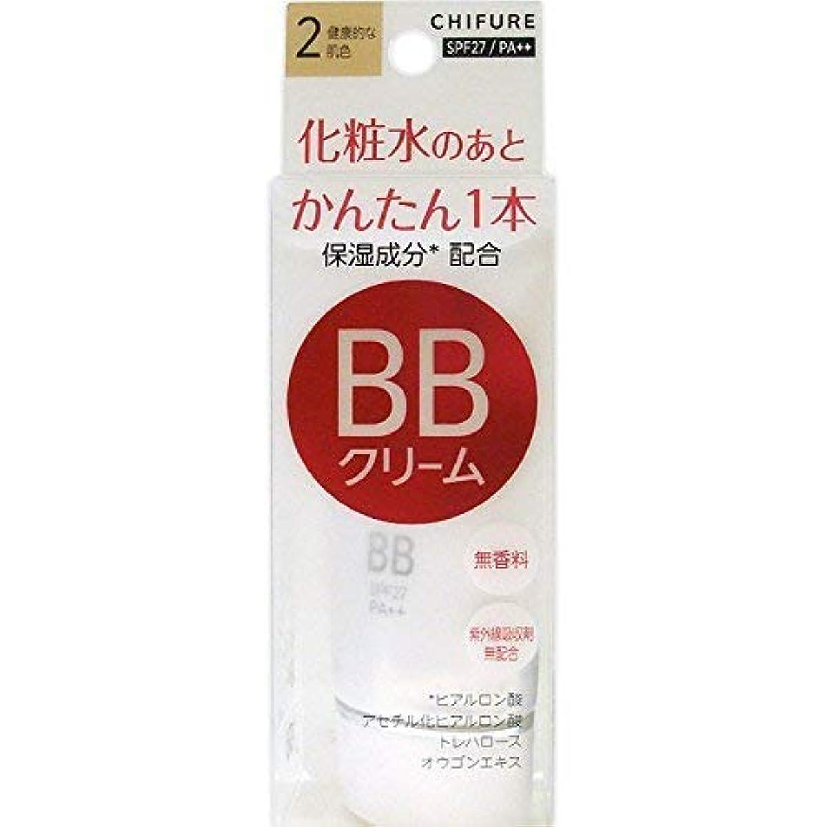 動機付ける不確実ノートちふれ化粧品 BB クリーム 2 健康的な肌色 BBクリーム 2