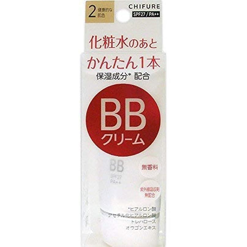 荒野プロフェッショナルラウズちふれ化粧品 BB クリーム 2 健康的な肌色 BBクリーム 2