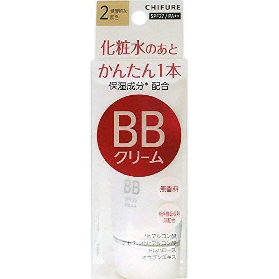 年金受給者エキサイティング値するちふれ化粧品 BB クリーム 2 健康的な肌色 BBクリーム 2