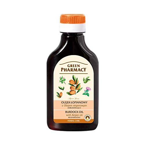 Green Pharmacy Burdock Oil with Argan Oil 100ml