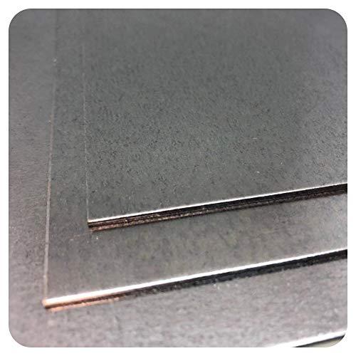 Stahlblech verzinkt 1,5mm Eisen Metall Feinblech Blech DX Güte nach Auswahl