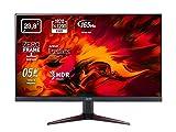 Acer Nitro VG240YS - Monitor de 23,8' Full HD, con ZeroFrame y FreeSync, 250 nits, Tiempo de Respuesta de 2ms, 2xHDMI - Color Negro