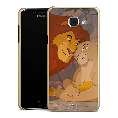DeinDesign Handyhülle kompatibel mit Samsung Galaxy A5 Duos 2016 Cover Gold Schutzhülle König der Löwen Disney Offizielles Lizenzprodukt